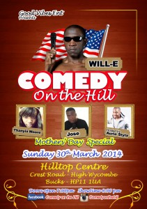 COMEDY on the HILL front 1