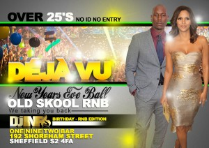 DEJAVU - New Years Eve Ball front