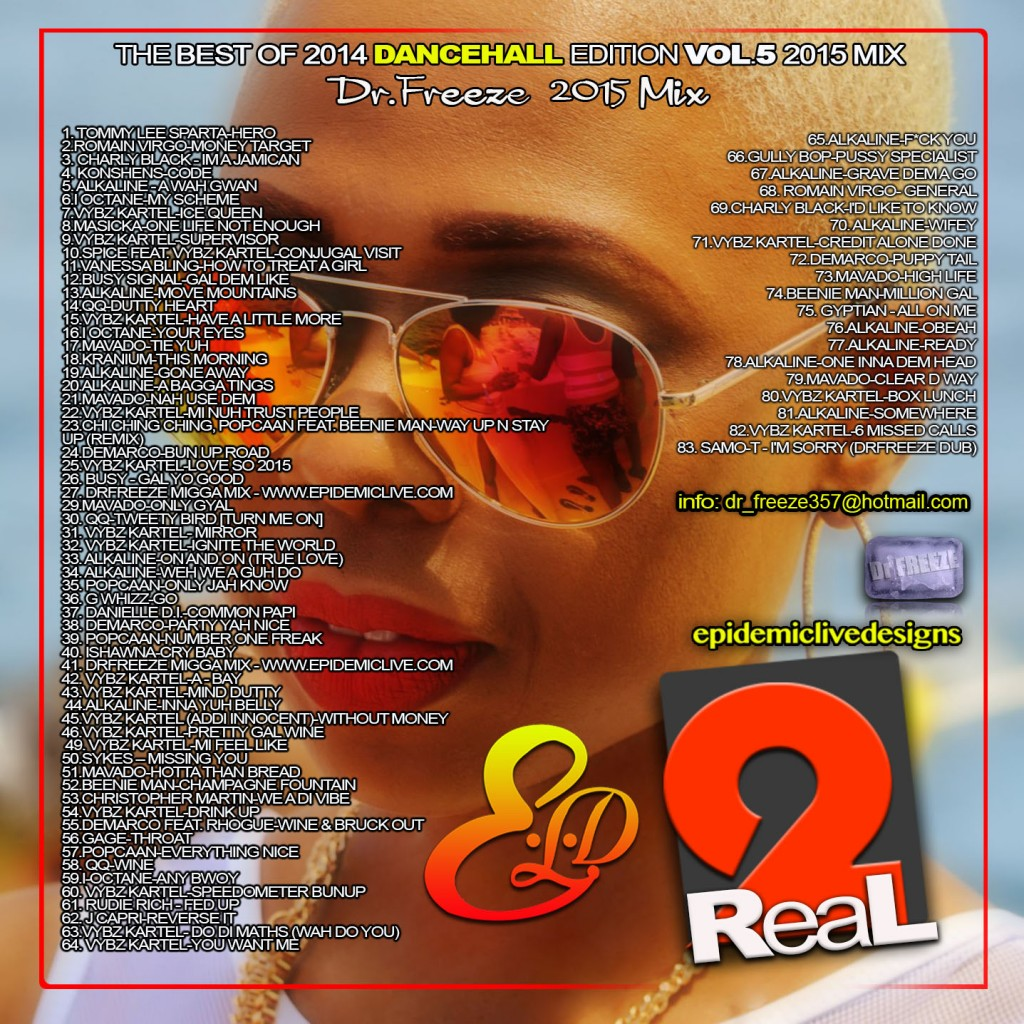 2Real Vol.5 Edition back