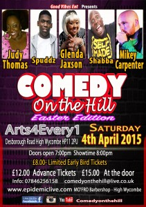 Comedy on the Hill - Easter Edition