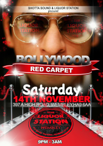 Bollywood red carpet  front
