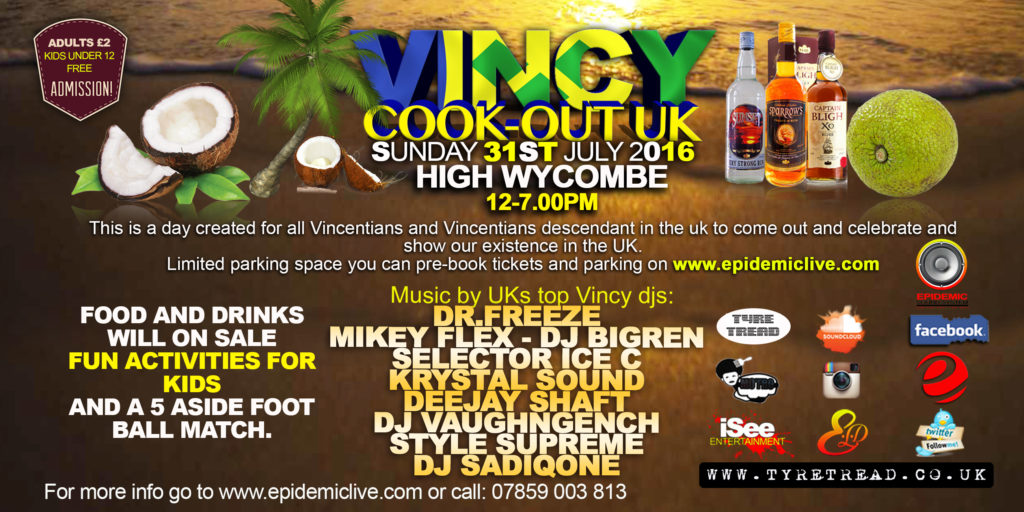 Vincy Cook-Out Back