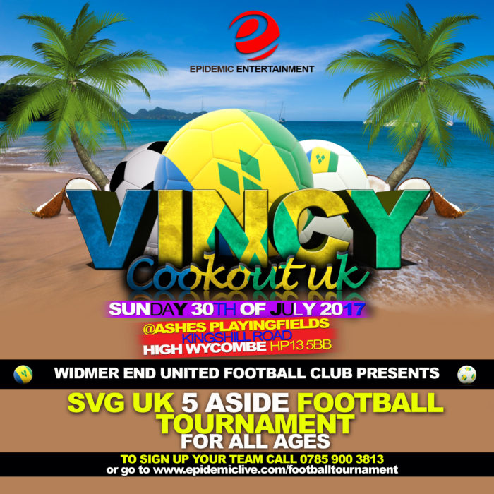 Vincy Cook-Out uk football team